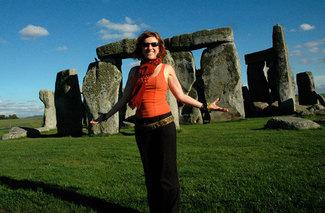 Jen Delyth at Stonehenge