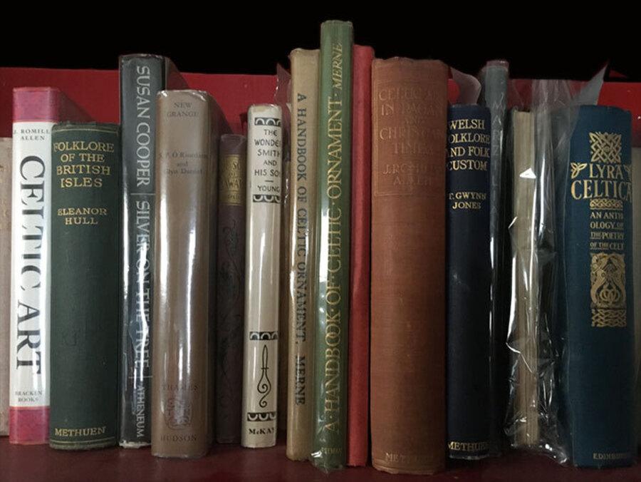 Jen Delyth Celtic Art Library Shelf