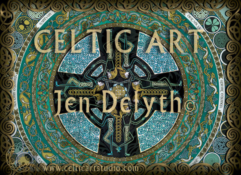 Celtic Art By Jen Delyth Slide Show ©